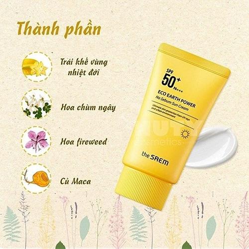 the-saem-vang-eco-earth-power-light-sun-cream
