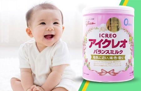 Glico số 0 rất giống với sữa mẹ