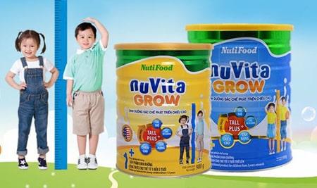 Nutifood là thương hiệu nổi tiếng của Việt Nam