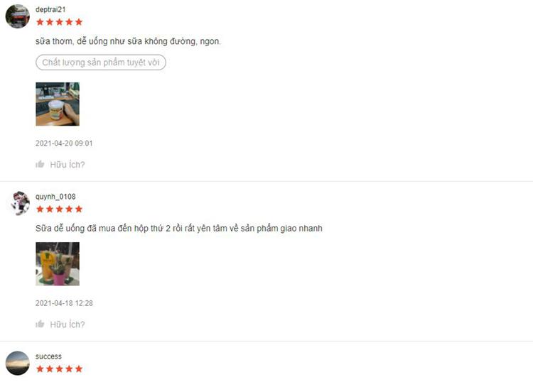 Phản hồi của khách hàng về sản phẩm trên Shopee