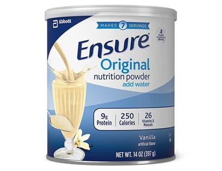 Ensure Original Nutrition Powder có rất nhiều công dụng khác nhau