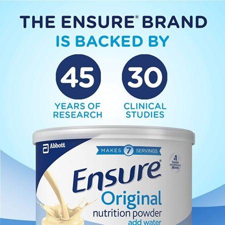 Sữa bột Ensure Original Nutrition Powder thuộc thương hiệu Abbott Hoa Kỳ