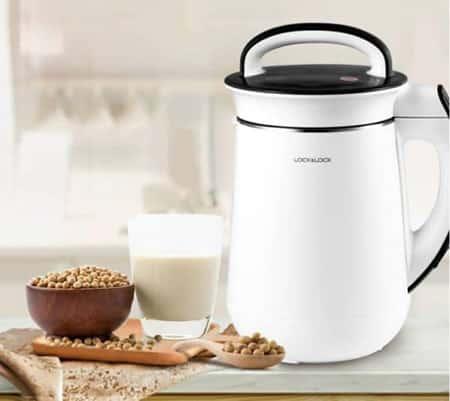 Máy làm sữa hạt và máy làm sữa đậu nành có cấu tạo khá giống nhau