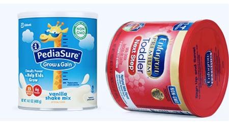 Enfagrow và Pediasure đều là sản phẩm đến từ Mỹ