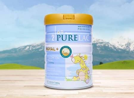 Sữa Purelac số 2 cho bé từ 6 đến 12 tháng tuổi