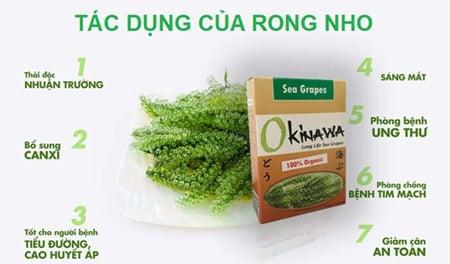 Rong Okinawa là sản phẩm của công ty TNHH Hải Nam Okinawa