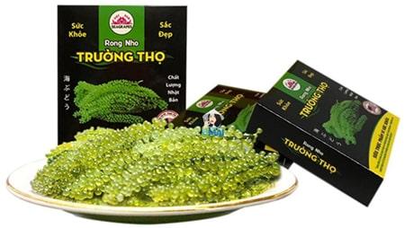 Rong Trường Thọ là sản phẩm của công ty TNHH Seagrapes Việt Nam