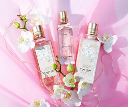 CDG Neroli & Orchidee Shower Gel chiết xuất tinh chất hoa cam & hoa lan trắng