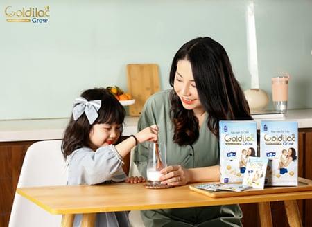 Những thay đổi tích cực từ khi sử dụng sản phẩm cho con