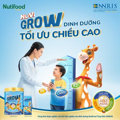 Sữa Nuvi Grow